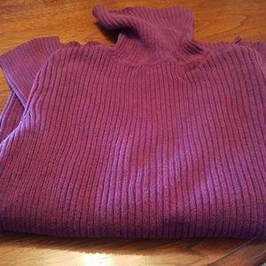EUC Sonoma Petite Turtleneck Sweater